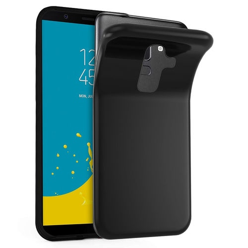 Flexi Slim Stealth Case for Samsung Galaxy J8 - Black (Matte)